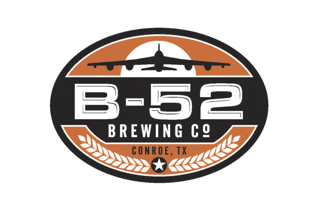 B-52 Brewing Co based in Conroe Texas was named after the B-52 Stratofortress, the most iconic American symbol in the world of military aviation. B-52 brewery was built and designed with the look and feel of aircraft hangars and also features a Taphouse built around an ammunition container. Tours of the Brewery are now available on Saturdays 12pm to 4pm.